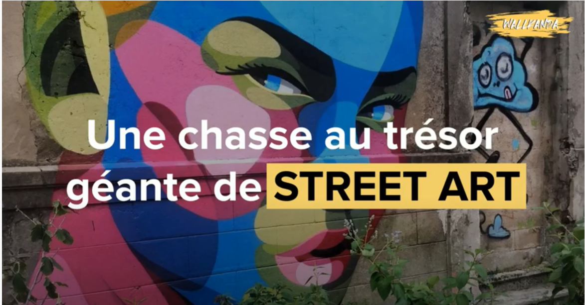 Wallanda crée une chasse au street art à Bordeaux