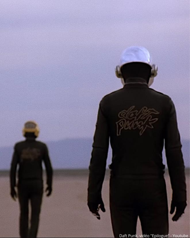 Daft Punk : un clip pour leur séparation