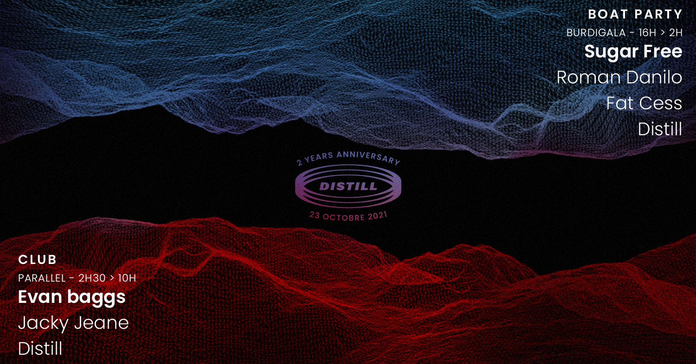 Distill va vous faire transpirer pour célébrer ses deux ans sur un bateau et au Parallel !