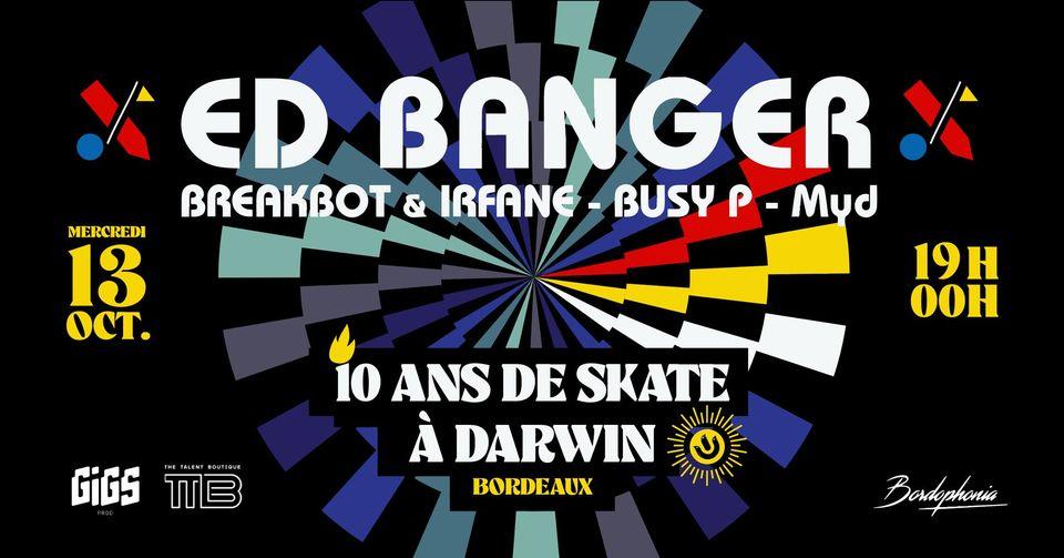 Ed Banger Party : rendez-vous à Darwin